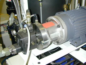 Metering Unit Pump with a Magnetic Drive System