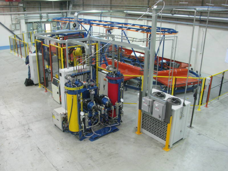 Powered Racetrack Conveyor System