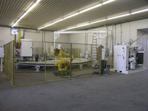 Manufacturing Tuntable with Robot
